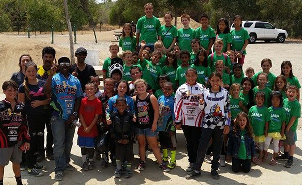 bay area bmxers bike summer camp group