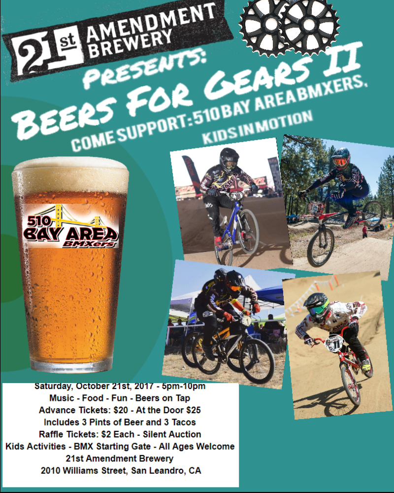 beers for gears 2017 flyer