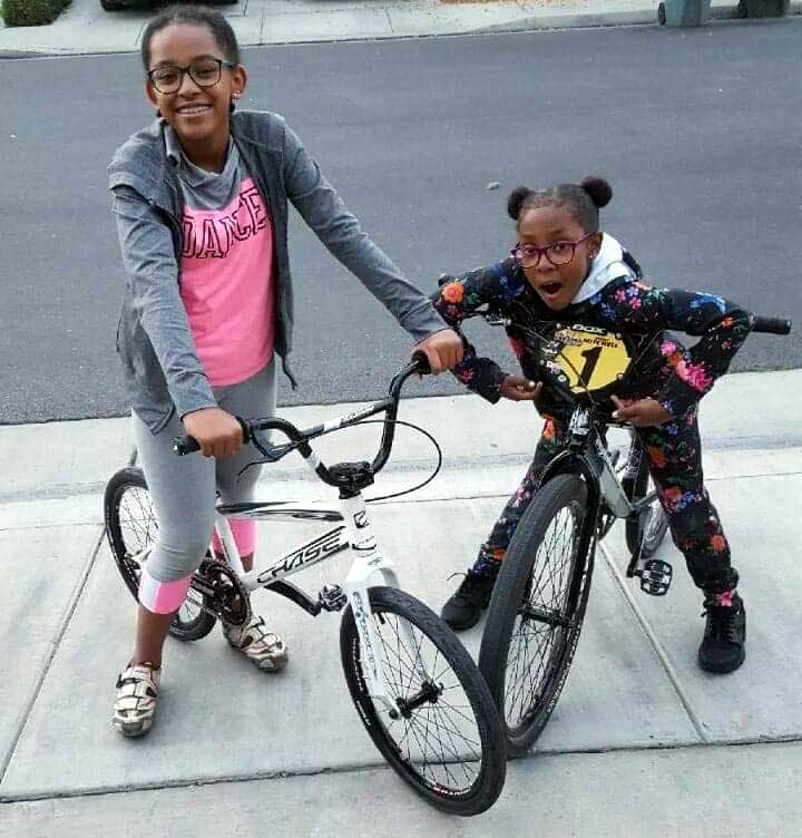 bay area bmxers bike summer camp girls