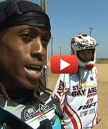 Bay Area BMXers on KTVU