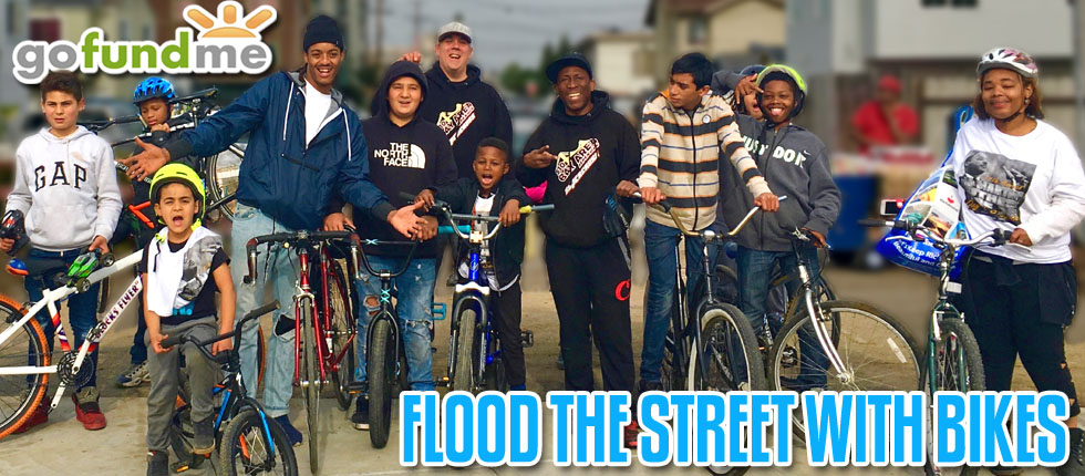 flood the streets with bikes