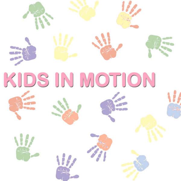 kids in motion logo