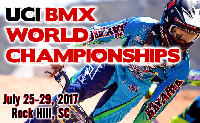 uci bmx world championships rock hill sc