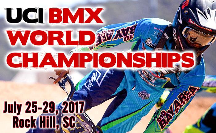 uci bmx world championships rock hill sc
