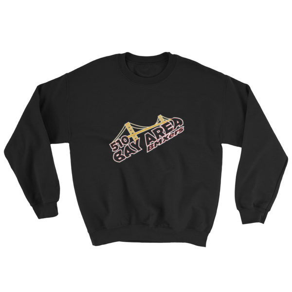 bay area bmxer logo sweatshirt black