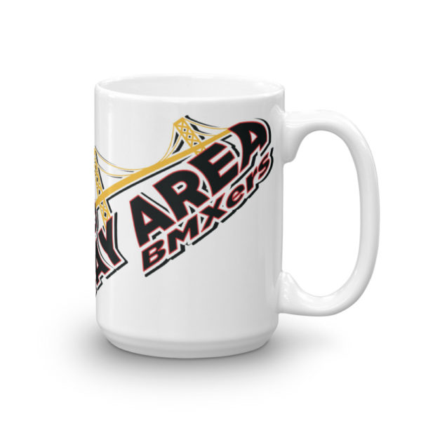 bay area bmxers coffee mug front 15 oz