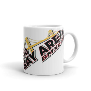 bay area bmxers coffee mug front