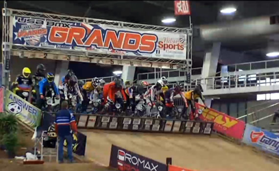 2018 tulsa bmx grand nationals starting gate
