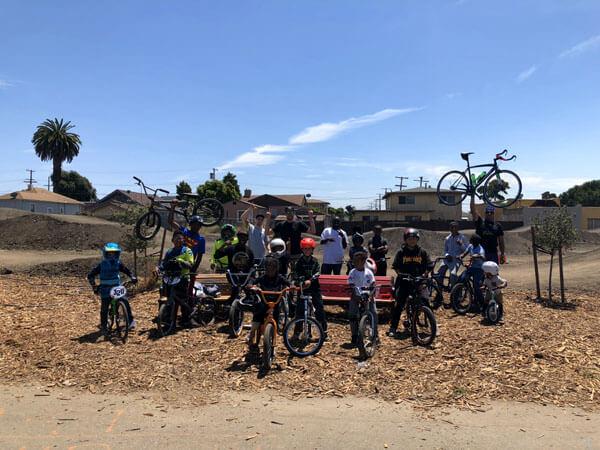 summer bike camp riders