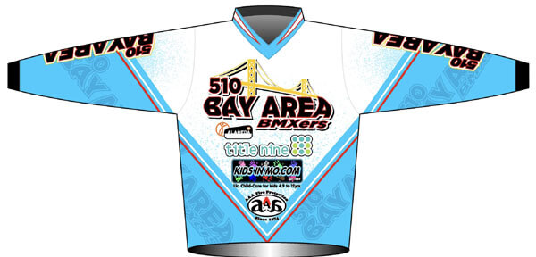 bay area bmxers summer camp jersey