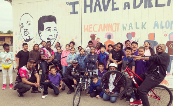 bay area bmxers after school workshop