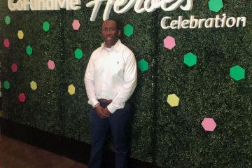 Howard at GoFundMe Heroes Celebration