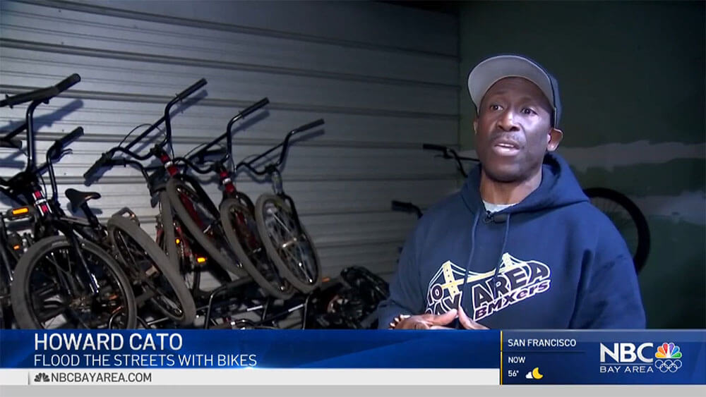 nbc bay area news Van Theft Puts Oakland Youth Bike Program on Hold