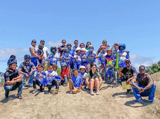bay area bmxers summer bike campers